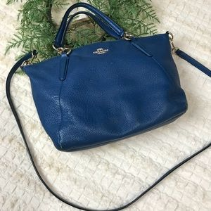 Coach Small Kelsey Satchel Refined pebble leather
